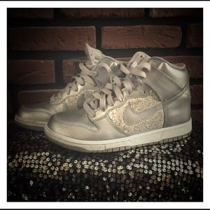 Bling Nike Jordan high tops